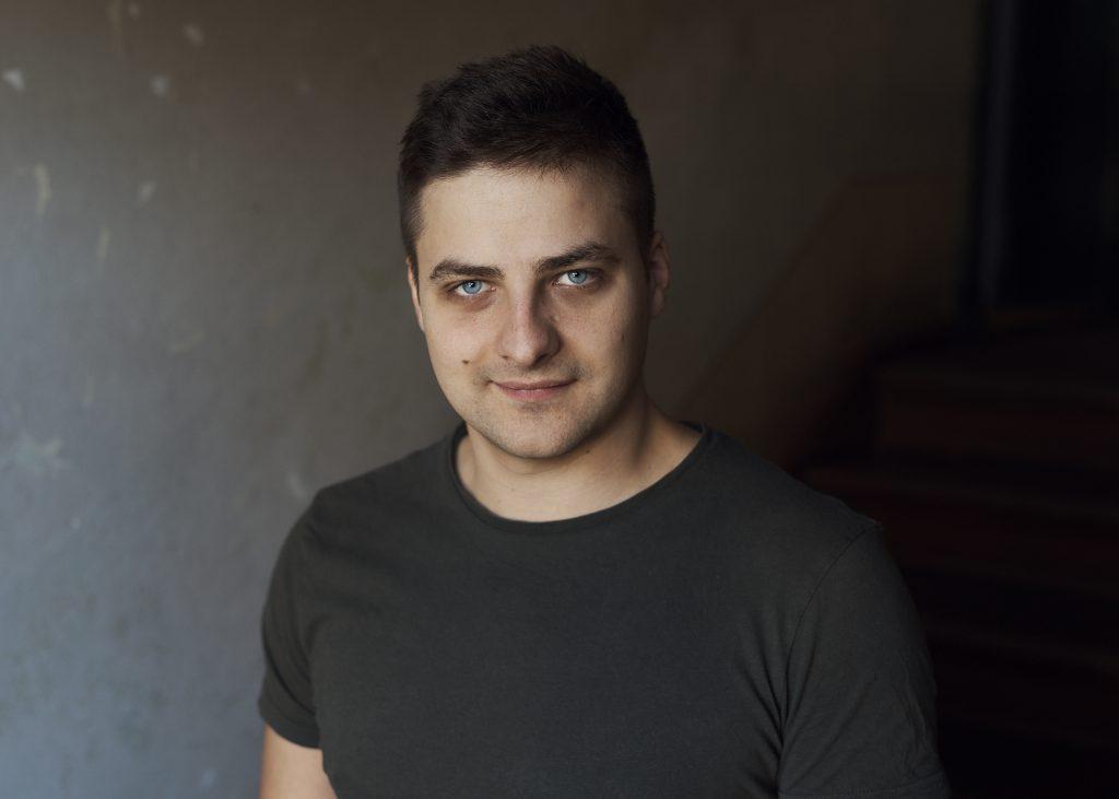 Florian Bamborschke, T-Shirt Portrait horizontal