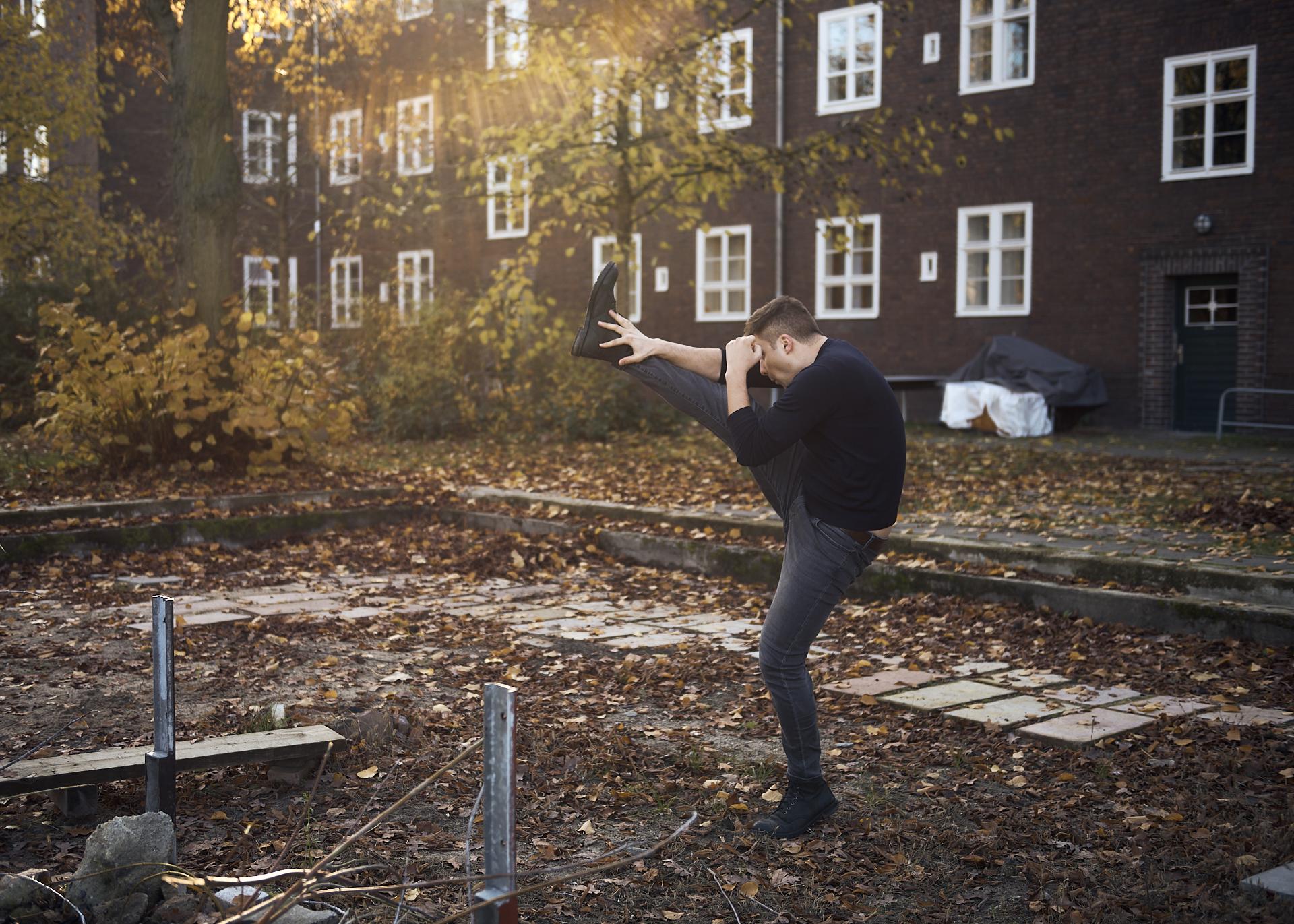 Florian Bamborschke, High Kick