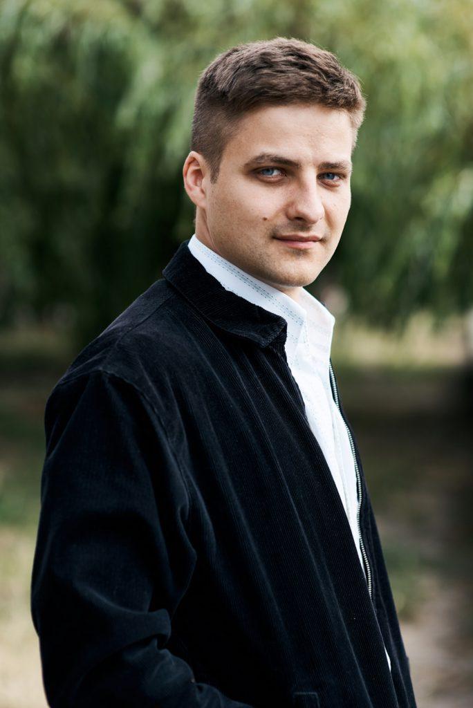 Florian Bamborschke Jacke seitlich